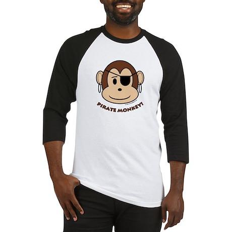 Pirate Monkey Baseball Jersey
