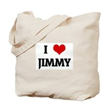 I Love JIMMY Tote Bag
