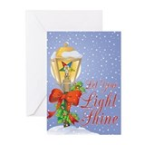 Eastern star Greeting Cards (20 Pack)
