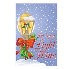 Let Your Light Shine OES Postcards (Package of 8)