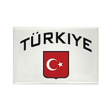 Turkiye Rectangle Magnet