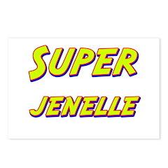 Super jenelle Postcards (Package of 8)
