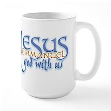 Jesus -Emmanuel God with us Ceramic Mugs