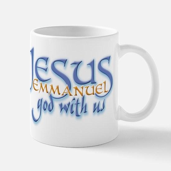 Jesus -Emmanuel God with us Mug