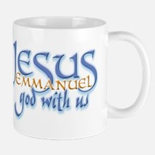 Jesus -Emmanuel God with us Small Small Mug