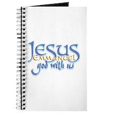 Jesus -Emmanuel God with us Journal