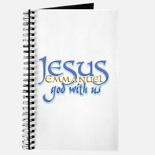 Jesus -Emmanuel God with us Journal