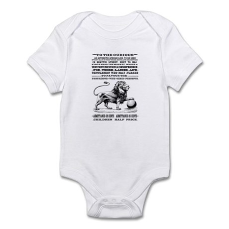 Vintage Circus Poster Infant Bodysuit