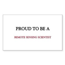 Proud to be a Remote Sensing Scientist Decal