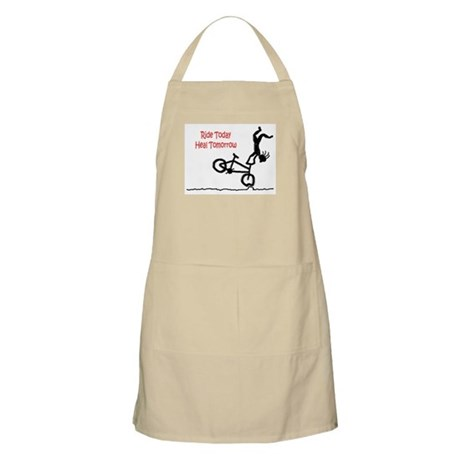 BBQ Apron with Mountain Bike logo