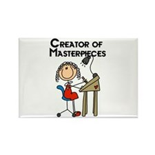 Creator of Masterpieces Rectangle Magnet (10 pack)