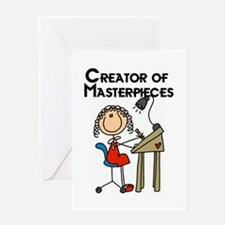 Creator of Masterpieces Greeting Card