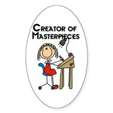 Creator of Masterpieces Decal