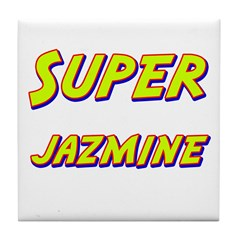 Super jazmine Tile Coaster