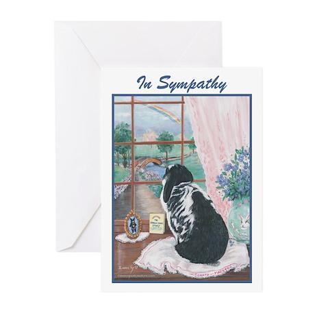 Rabbit Sympathy Greeting Cards (Pk of 10)