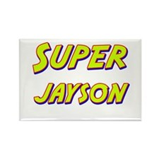 Super jayson Rectangle Magnet
