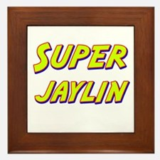 Super jaylin Framed Tile