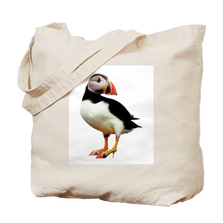 Bird Wearing Shoes Tote Bag