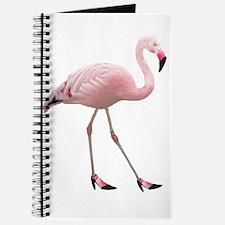 FLamingo Wearing Shoes Journal