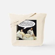 Manet Sarah Palin Tote Bag