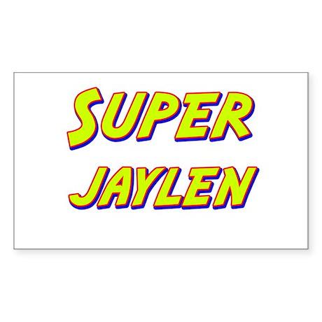 Super jaylen Rectangle Sticker