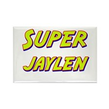 Super jaylen Rectangle Magnet