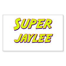 Super jaylee Rectangle Decal