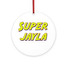 Super jayla Ornament (Round)