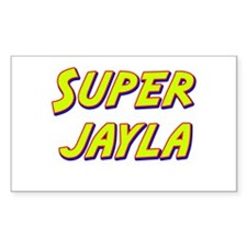 Super jayla Rectangle Decal