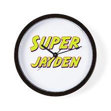 Super jayden Wall Clock
