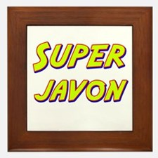 Super javon Framed Tile