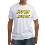 Super jason Fitted T-Shirt