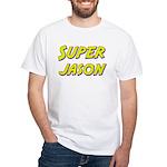 Super jason White T-Shirt