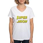 Super jason Women's V-Neck T-Shirt