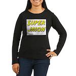 Super jason Women's Long Sleeve Dark T-Shirt
