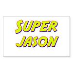 Super jason Rectangle Sticker