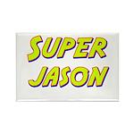 Super jason Rectangle Magnet (10 pack)