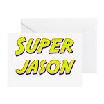 Super jason Greeting Card