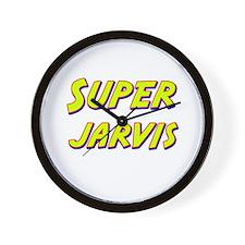 Super jarvis Wall Clock