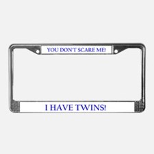 Funny Twinning License Plate Frame