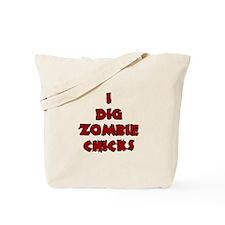 Halloween I Dig Zombie Tote Bag