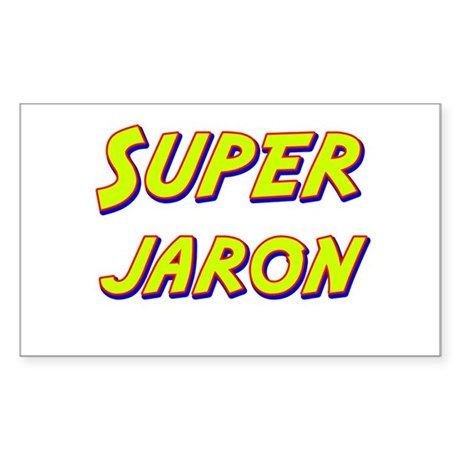 Super jaron Rectangle Sticker