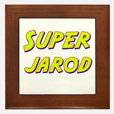 Super jarod Framed Tile