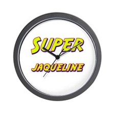 Super jaqueline Wall Clock