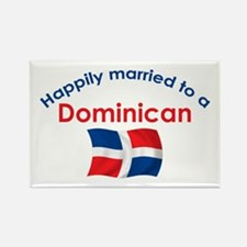 Happily Married Dominican 2 Rectangle Magnet