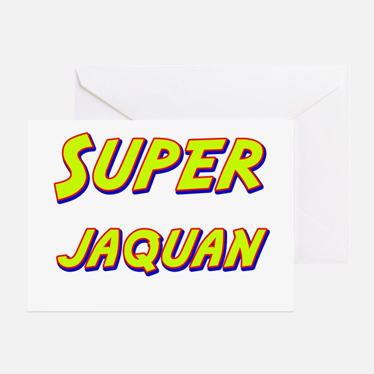 Super jaquan Greeting Card