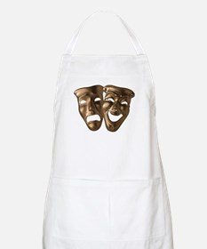 Drama and Comedy Masks BBQ Apron