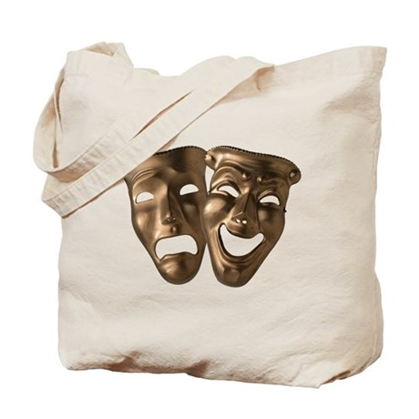 Drama and Comedy Masks Tote Bag