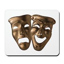 Drama and Comedy Masks Mousepad