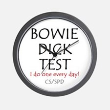 Bowie Dick Wall Clock